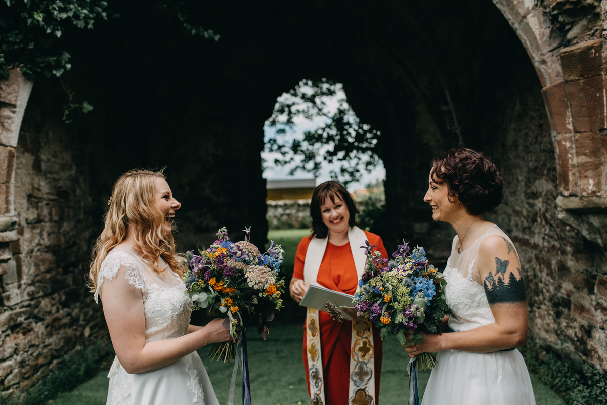 alternative same sex wedding ceremony in Scotland