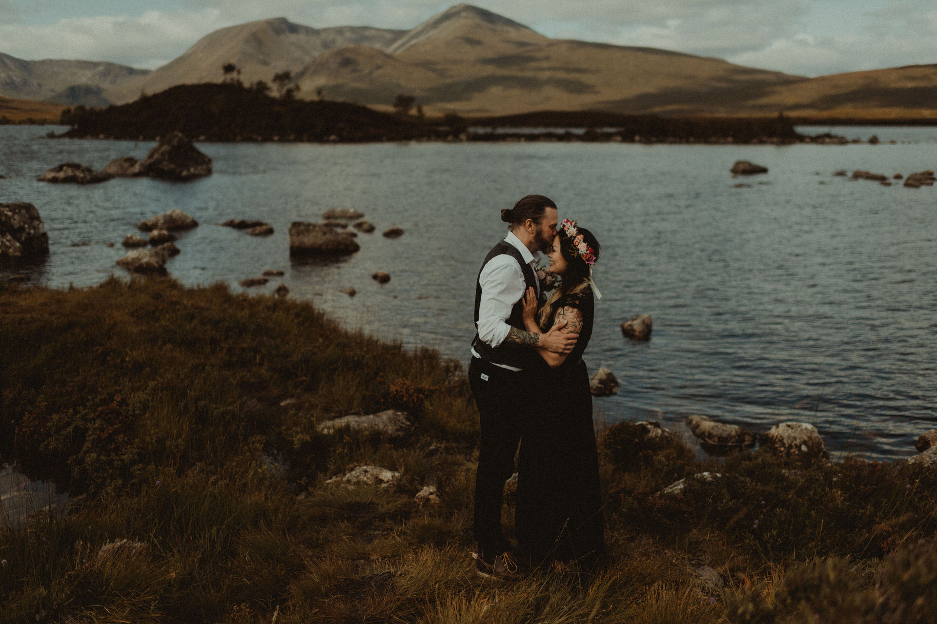 breathtaking Glencoe elopement photography