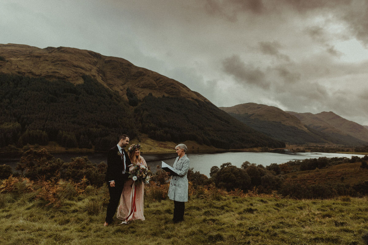 A beautiful intimate wedding at Monachyle Mhor